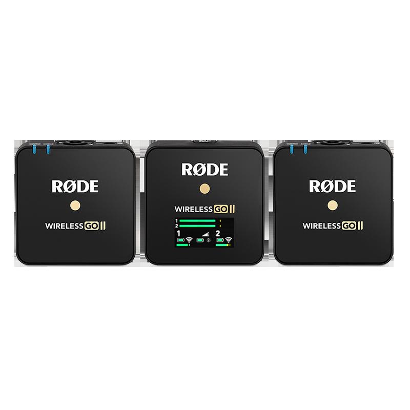 罗德 WIRELESS GO II 二代 无线 麦克风 (一拖二)